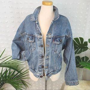 LEVI'S Vintage Boyfriend Trucker Denim Jacket